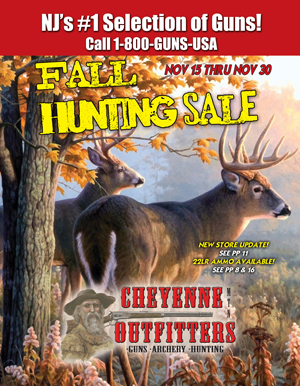 Fall Hunting Sale Flyer
